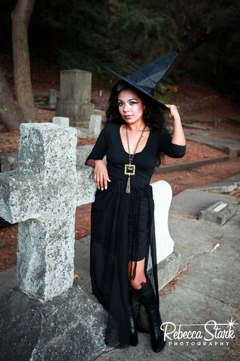 cemetery photo shoot
