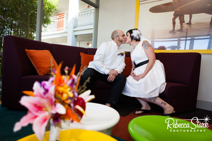 Dream Inn Santa Cruz wedding