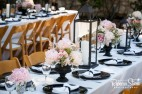 pink peony center pieces
