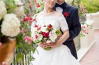couple at Pebble Beach wedding
