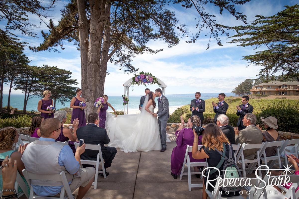 0122 seascape beach resort wedding PA - beach wedding santa cruz